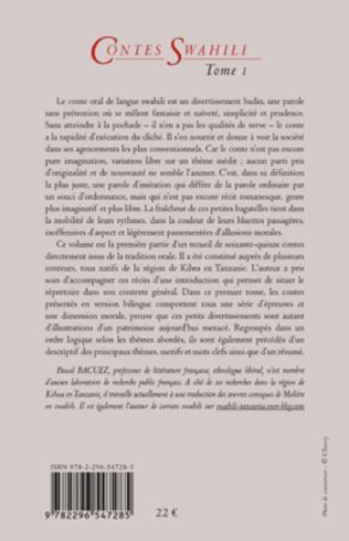 4eme Contes Swahili (Tome 1)