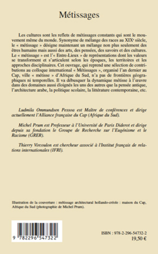 4eme Métissages