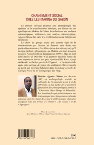 4eme Changement social chez les Makina du Gabon