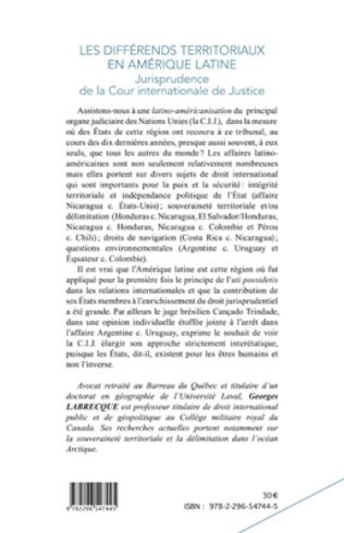 4eme Les différends territoriaux en Amérique Latine