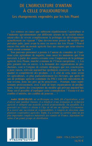 4eme DE L'AGRICULTURE D'ANTAN A CELLE D'AUJOURD'HUI