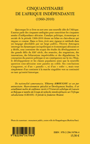 4eme Cinquantenaire de l'afrique indépendante (1960-2010)