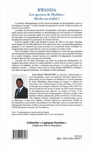 4eme Rwanda Les spectres de Malthus : Mythe ou réalité ?