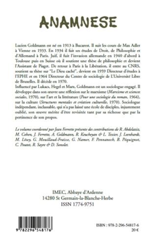 4eme Lucien Goldmann
