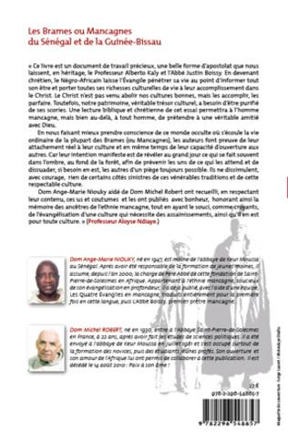 4eme Les Brames ou Mancagnes du Sénégal et de la Guinée-Bissau