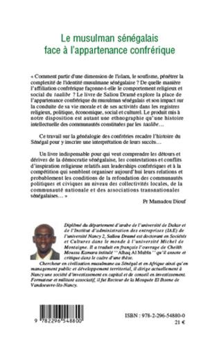 4eme Le musulman sénégalais face à l'appartenance confrérique