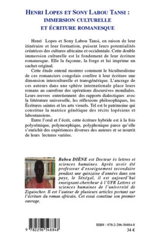 4eme Henri Lopes et Sony Labou Tansi :