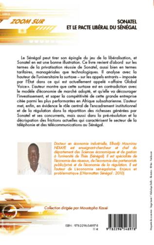 4eme Sonatel et le pacte libéral du Sénégal