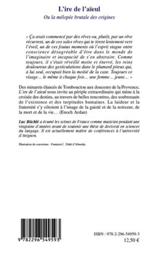 4eme L'IRE DE L'AIEUL OU LA MELOPEE BRUTALE DE ORIGINES   ROMAN