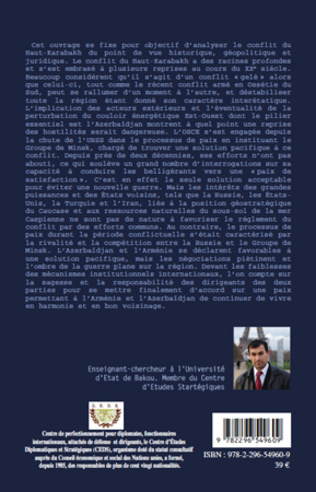 4eme Le Conflit du Haut-Karabakh