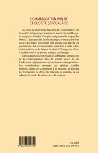 4eme Communication wolof et société sénégalaise