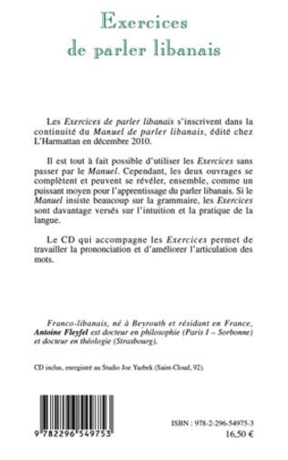 4eme EXERCICES DE PARLER LIBANAIS