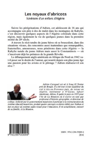 4eme LES NOYAUX D'ABRICOTS ITINERAIRE D'UN ENFANT D'ALGERIE