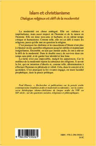 4eme Islam et Christianisme