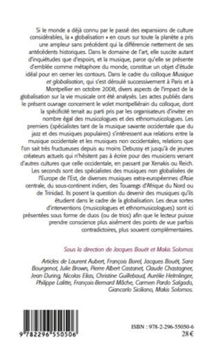 4eme Musique et globalisation :