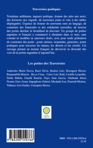 4eme Traversées poétiques - Travesias poéticas