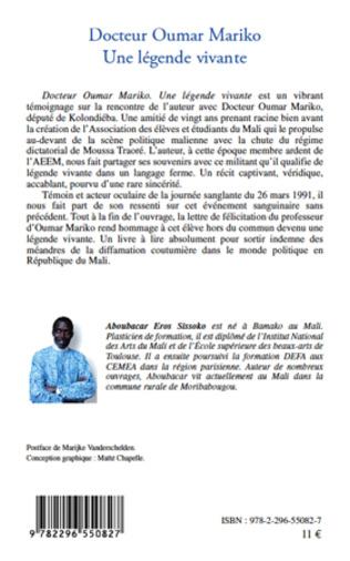 4eme Docteur Oumar Mariko une légende vivante