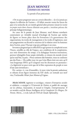 4eme Jean Monnet citoyen du monde