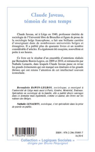 4eme Claude Javeau, témoin de son temps