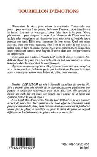 4eme TOURBILLON D'EMOTIONS   NOUVELLES