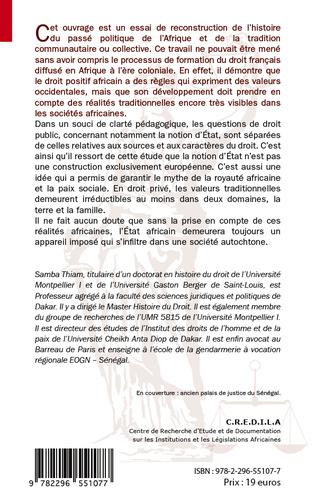 4eme Introduction historique au droit en Afrique
