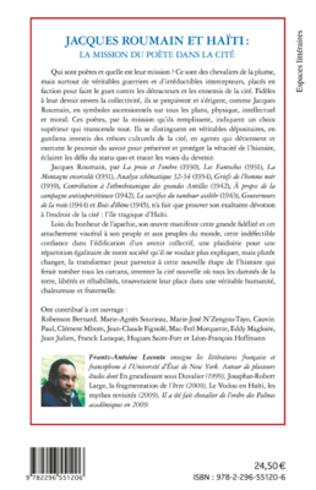 4eme Jacques Roumain et Haïti
