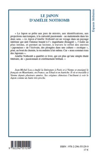 4eme Le Japon d'Amélie Nothomb