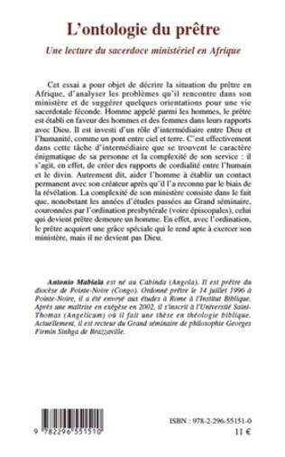 4eme L'ontologie du prêtre