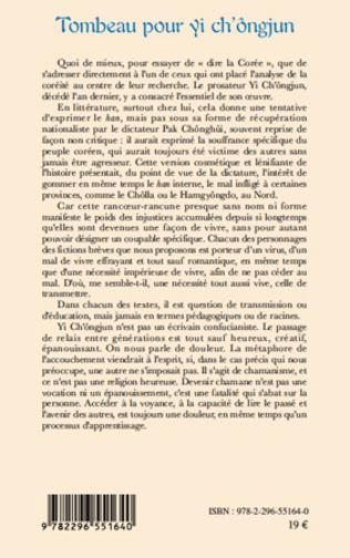 4eme Tombeau pour yi ch'ôngjun