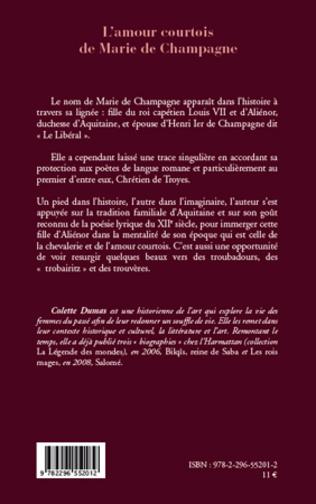 4eme L'amour courtois de Marie de Champagne