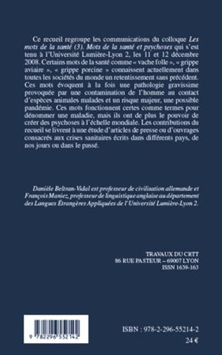 4eme La grippe espagnole : traitement lexical et sémantique dans la presse de l'Espagne de 1918