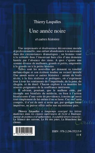 4eme UNE ANNEE NOIRE ET AUTRES HISTOIRES