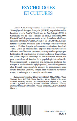 4eme Psychologies et cultures