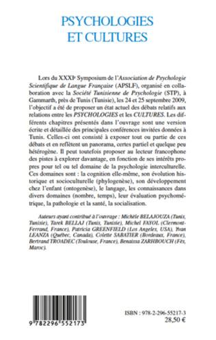 4eme Psychologies et cultures