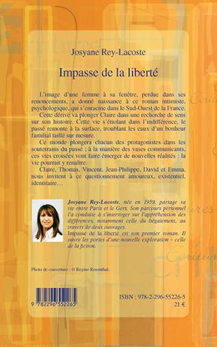 4eme IMPASSE DE LA LIBERTE ROMAN