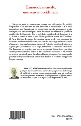 4eme L'anorexie mentale, une oeuvre occidentale