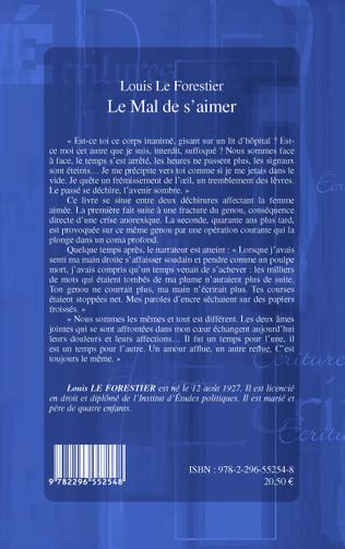 4eme LE MAL DE S'AIMER   ROMAN