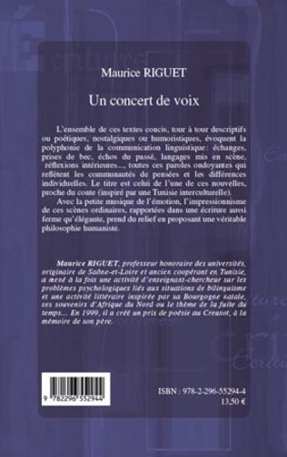 4eme Un concert de voix