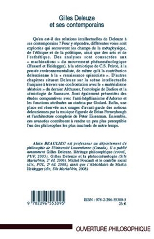4eme Gilles Deleuze et ses contemporains