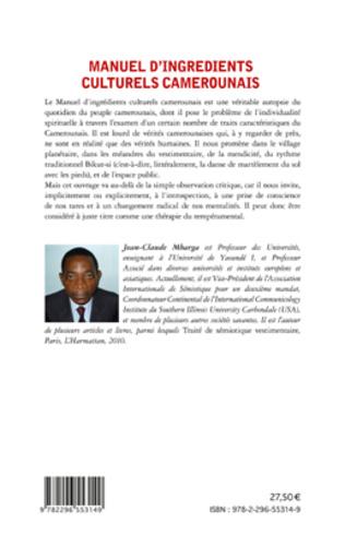 4eme Manuel d'ingrédients culturels camerounais