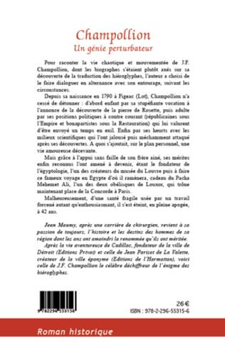 4eme CHAMPOLLION UN GENIE PERTURBATEUR