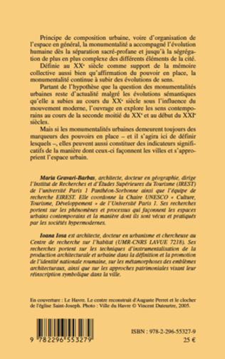 4eme Monumentalité(s) urbaine(s) aux XIXe et XXe siècles