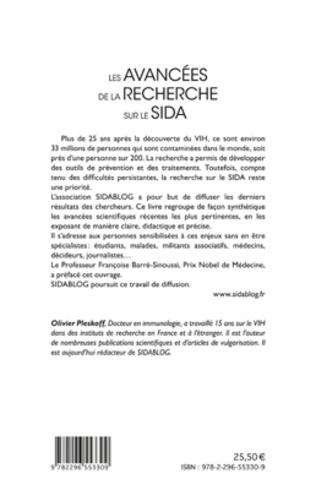 4eme Les Avancées de la Recherche sur le Sida