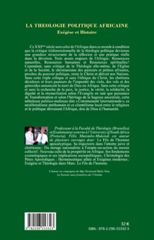 4eme La théologie politique africaine