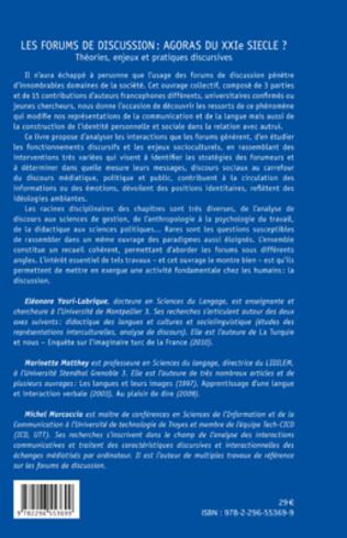 4eme Les forums de discussion : agoras du XXIe siècle ?
