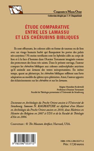 4eme Etude comparative entre les lamassu et les chérubins bibliques