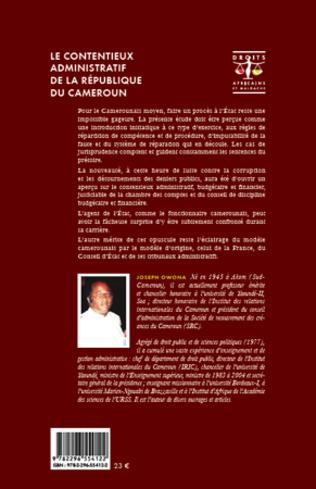 4eme Le contentieux administratif de la République du Cameroun