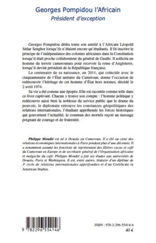 4eme Georges Pompidou l'Africain