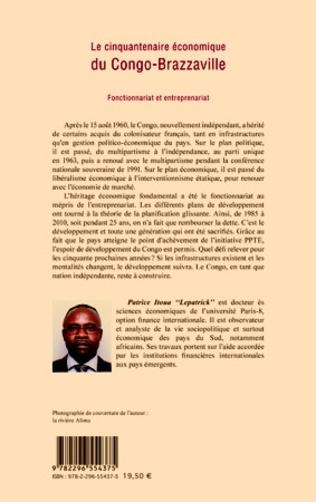 4eme Le cinquantenaire économique du Congo-Brazzaville