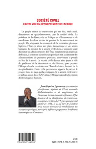 4eme Société civile l'autre voie du développement de l'Afrique